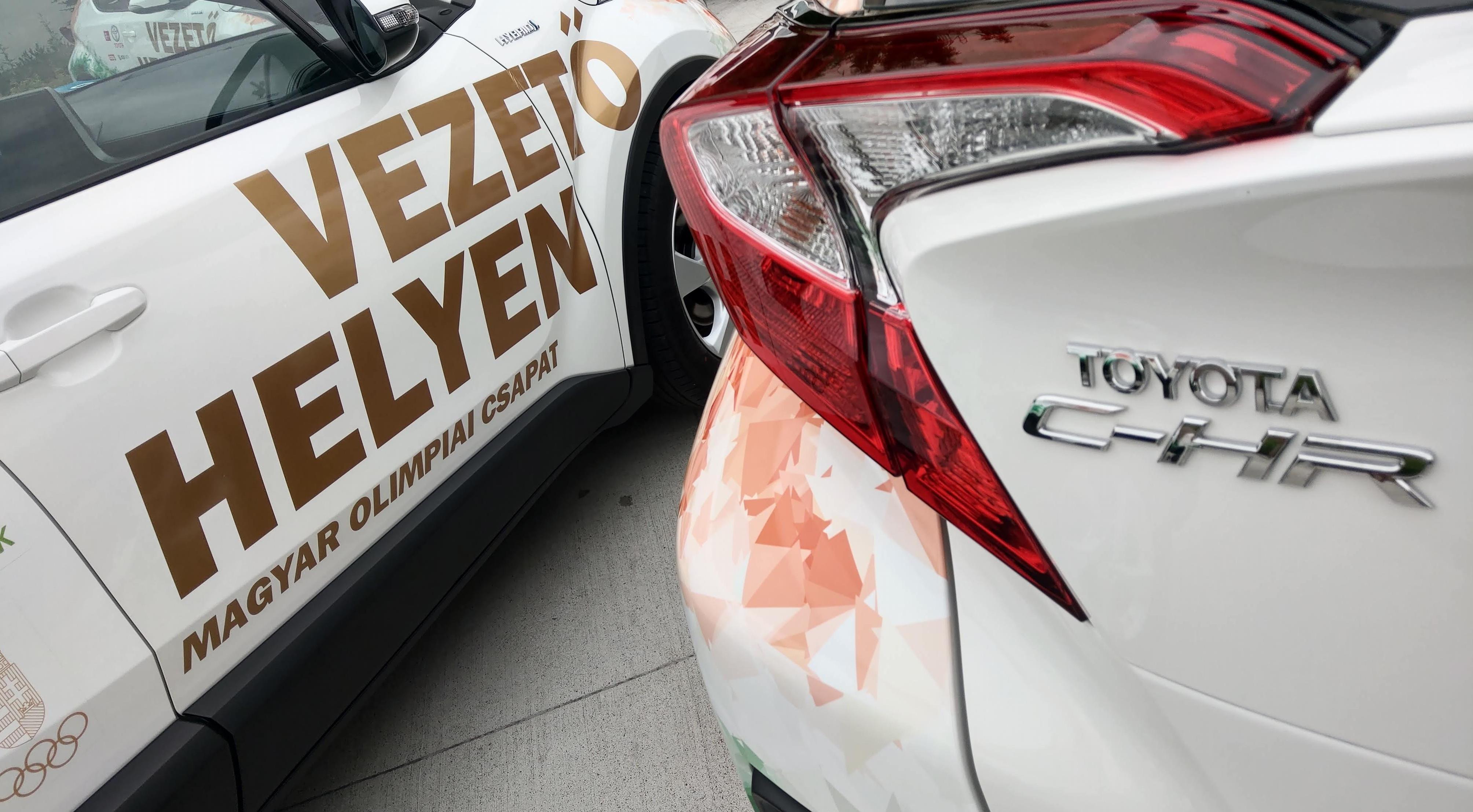 ea07f90d7c Az olimpiai és paralimpiai játékok világszintű mobilitási partnereként és a  Magyar Olimpiai Bizottság platina fokozatú támogatójaként, a Toyota, ...
